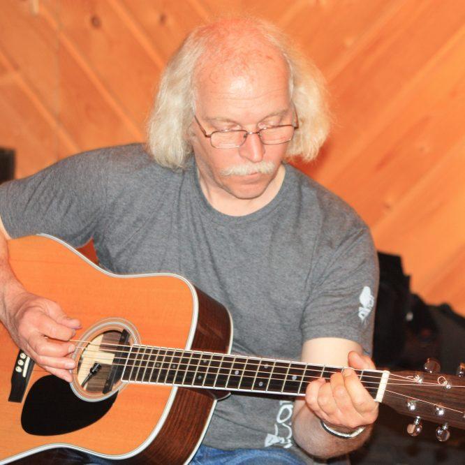 Paul et guitare
